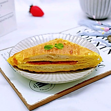 #精品菜谱挑战赛#快手早餐~香蕉酸奶三明治