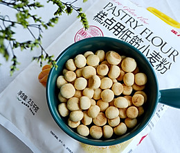 #爱好组-低筋#无糖少油,简单易做的豆豆饼干的做法