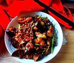 #下饭红烧菜#红烧肉末茄子(非油炸版)的做法