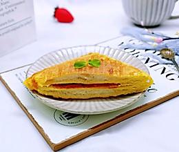 #精品菜谱挑战赛#快手早餐~香蕉酸奶三明治的做法