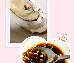 清蒸生蚝的做法