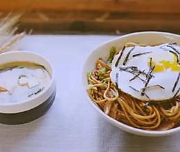 日式酱油炒面 日食记的做法