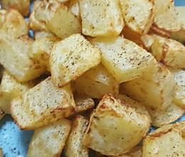 空气炸锅薯块的做法