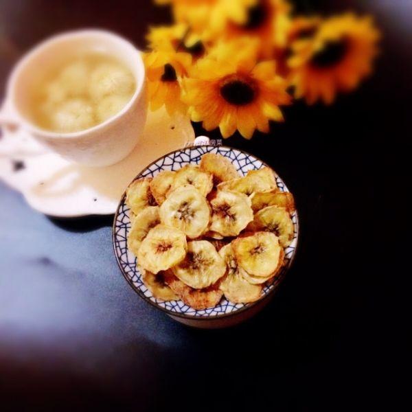 烤香蕉片~新手一学即会的做法