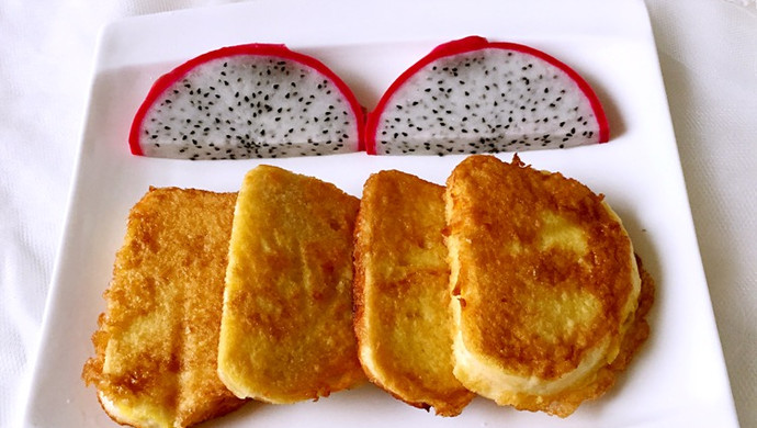 香炸馒头片(快手早餐)