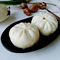 卷心香菇熟肉包