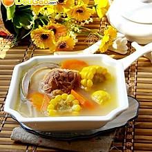 老母鸡鲍鱼玉米汤----亚运美食