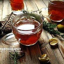 女性美颜瘦身两不误的养生水果茶--【木瓜龙眼苹果茶】
