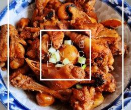 板栗焖鸡的做法