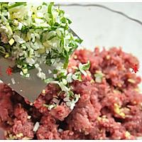 热腾腾的蕃茄牛肉水饺——做出鲜嫩带汤牛肉馅秘方大公开的做法图解4