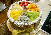 水果蛋糕的做法