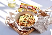 #百梦多圆梦季#蔬菜肉末咖喱炒饭的做法