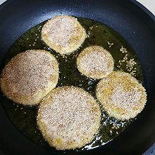 香煎南瓜饼(芝麻 面包糠)