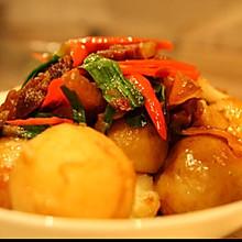 土豆炖咸肉
