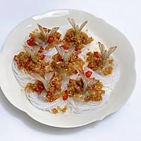 年夜菜|蒸蒸日上·蒜蓉粉丝蒸凤尾虾的做法图解9