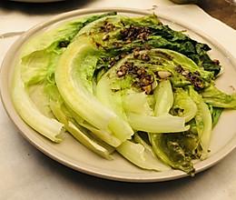 蚝油生菜这样做,开水一烫好吃又营养的做法