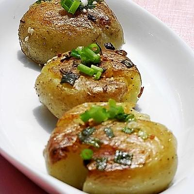 少油版葱煎土豆