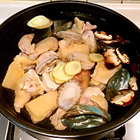 春季养生鲜鲍鱼土鸡汤的做法图解5