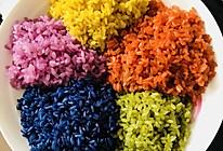 五色糯米饭的做法