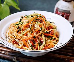 绝佳开胃凉菜之凉拌豆皮丝的做法