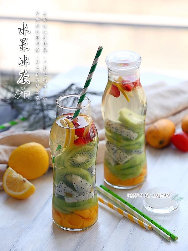 水果蜜冰茶