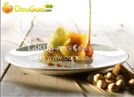 焦糖菠萝意饺