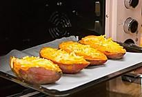 芝士焗红薯 绵软香甜,全家都爱的做法
