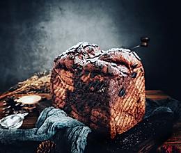 巧克力雪顶吐司的做法