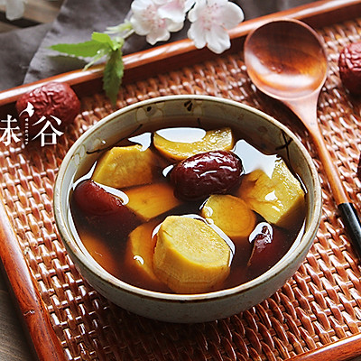 红糖生姜番薯糖水