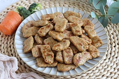 美味好吃的鲜虾猪肉蔬菜块