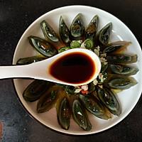 #味达美名厨福气汁,新春添口福#开运年菜黄瓜拌皮蛋的做法图解7