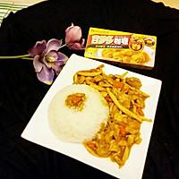 咖喱蘑菇鸡肉饭#百梦多Lady咖喱#