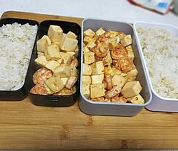 减脂增肌又美味,蛋白质爆棚——虾仁炒豆腐的做法