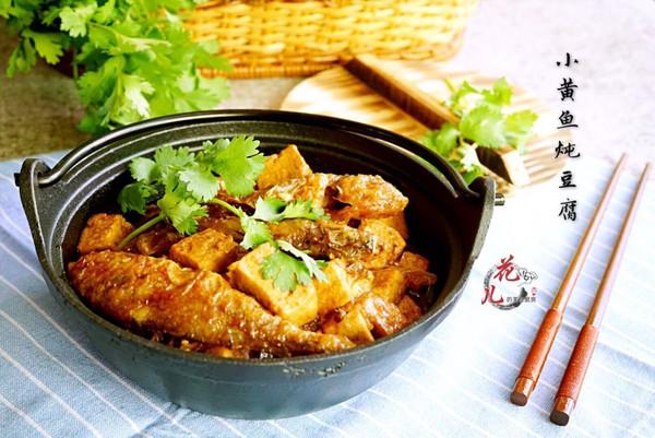 咸香又养生的小黄鱼炖豆腐