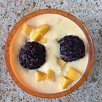 经典港式甜品一一芒果黑糯米甜甜的做法图解6