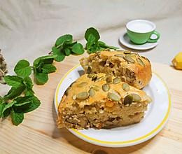 #换着花样吃早餐#快手香蕉蛋糕的做法