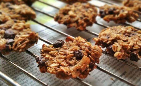 无油无糖健身必备--两种材料燕麦香蕉饼干two ingred的做法