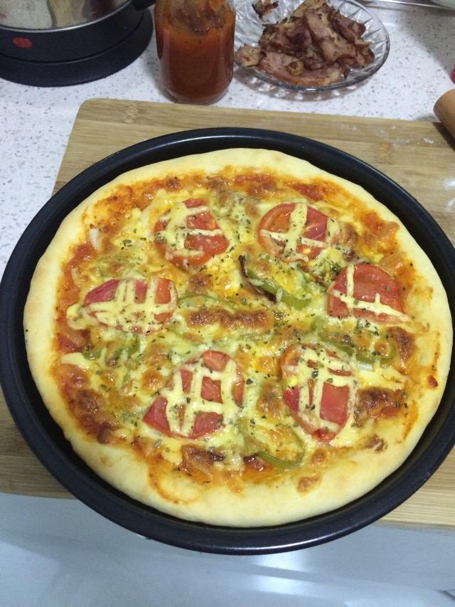勺子叉子_家庭披萨的做法_【图解】家庭披萨怎么做如何做好吃_家庭披萨 ...