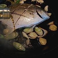 红烧鲳鱼的做法图解7