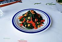 椒椒蒜油豆腐菜的做法