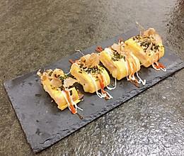 #换着花样吃早餐# 日式芝士厚蛋烧的做法