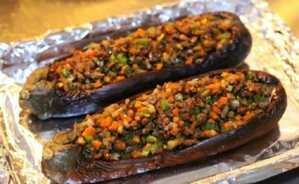 肉末烤茄子的做法