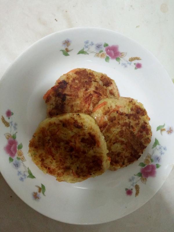 虾泥土豆饼的做法