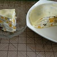 芒果蜜豆千层蛋糕的做法图解1