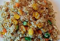 咸蛋黄炒饭(家常)的做法