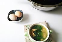 苦菜蛋汤的做法