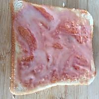 早餐吐司披萨(超简单)的做法图解3