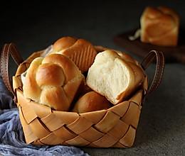 椰香 老式面包北鼎烤箱版的做法