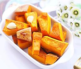 #秋天怎么吃#蒜香烤南瓜的做法