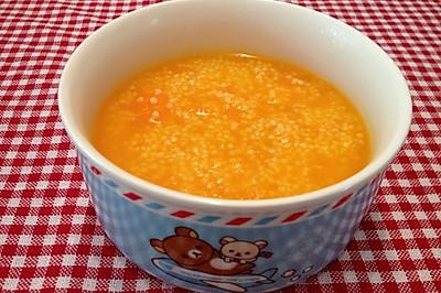 小米南瓜粥(宝宝辅食)